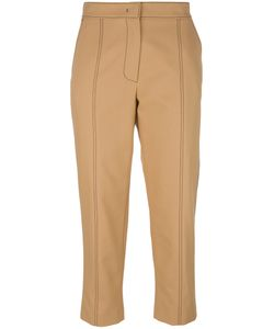 MSGM | Cropped Trousers 40 Cotton