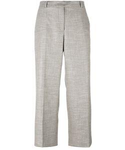 Agnona | Wide Leg Cropped Trousers 42 Spandex/Elastane/Wool/Viscose/Spandex/Elastane