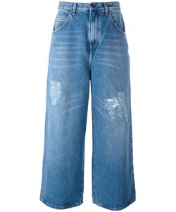 J.W. Anderson | J.W.Anderson Cropped Distressed Jeans 44 Cotton