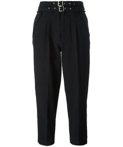 Diesel | High-Waisted Trousers 25 Cotton/Polyester/Spandex/Elastane