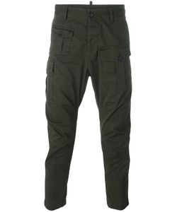 Dsquared2 | Cargo Cropped Trousers 46 Cotton