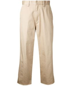Cityshop | Cropped Trousers 38 Cotton
