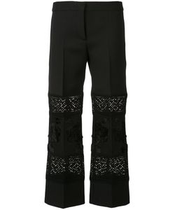 Alexander McQueen | Embroidered Cropped Trousers