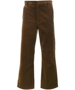 MARTINE ROSE | Cropped Corduroy Trousers Small Cotton/Viscose