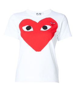 Comme des Gar ons Play | Comme Des Garçons Play Heart Print And Application T-Shirt Size