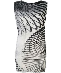 PLEATS PLEASE BY ISSEY MIYAKE | Slinky Print Dress