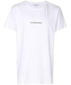 Les Benjamins | Printed Logo T-Shirt Men