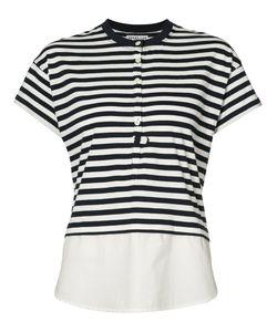 Derek Lam 10 Crosby | Striped T-Shirt Size Medium