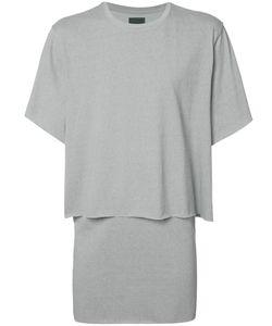 BYUNGMUN SEO | Laye T-Shirt Small Cotton