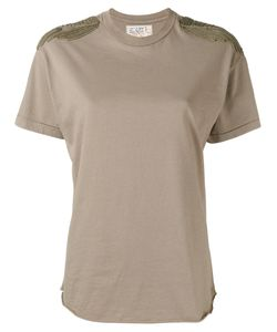 Sandrine Rose | Shoulder Patch T-Shirt