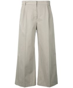 Aspesi | Fla Cropped Trousers 46 Cotton