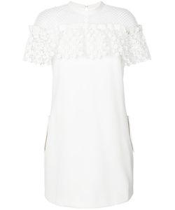 SELF-PORTRAIT | Платье С Цветочным Узором И Оборками