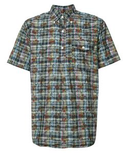 Engineered Garments | Dk Madras Short Sleeve Shirt Size Medium