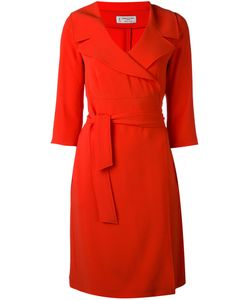 Alberto Biani | Belted V-Neck Dress