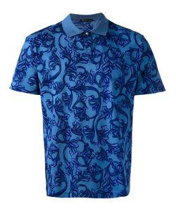 Versace   Baroque Print Polo Shirt Size Small