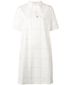 Fabiana Filippi | Checked Polo Shirt Dress Size 46