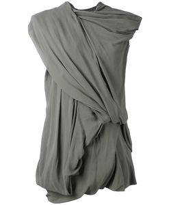 Rick Owens   Drape Dress Size 42 Cotton/Spandex/Elastane/Silk