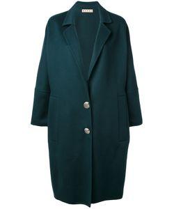 Marni | Пальто Свободного Кроя В Форме Овального Кокона