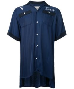 Maison Mihara Yasuhiro | Skull Embroide Shirt 44 Rayon