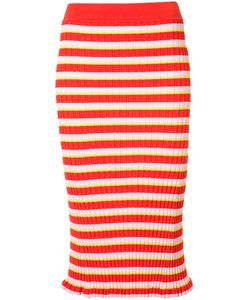 Altuzarra | Striped Pencil Skirt Size Medium