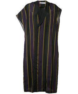 08SIRCUS | Striped Shift Dress 36 Cupro