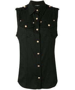 Balmain | Рубашка Без Рукавов На Пуговицах