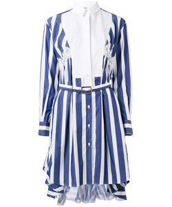 Sacai | Striped Shirt Dress