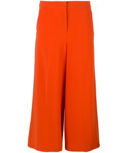 BOUTIQUE MOSCHINO | Cropped Wide Leg Trousers Size 40