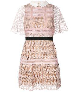 SELF-PORTRAIT | Embroidery Dress