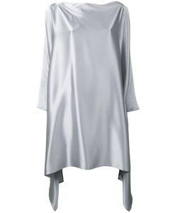 Gianluca Capannolo | Asymmetric Hem Dress 40 Triacetate/Polyester