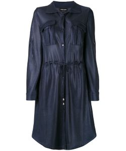 Giorgio Armani | Drawstring Shirt Dress