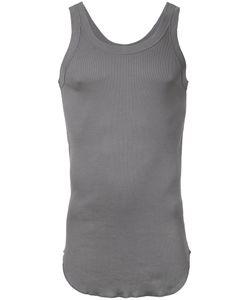 KAZUYUKI KUMAGAI | Curved Hem Vest 2 Cotton