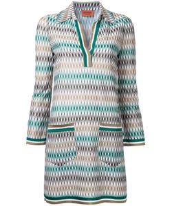 Missoni | Geometric Pattern Dress 38 Viscose