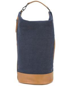 ZANELLATO | Detachable Strap Tote Cotton/Leather