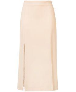 RYAN ROCHE | Lace Insert Skirt