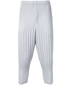 HOMME PLISSE ISSEY MIYAKE | Homme Plissé Issey Miyake Pleated Cropped Length Trousers 2
