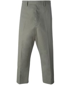 Rick Owens | Astaire Cropped Trousers 50 Cotton/Rubber