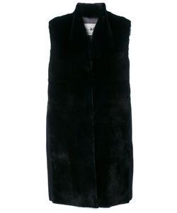 Manzoni 24 | Sleeveless Panelled Coat