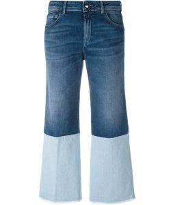 THE SEAFARER   Double-Denim Detail Jeans 28 Cotton/Polyurethane