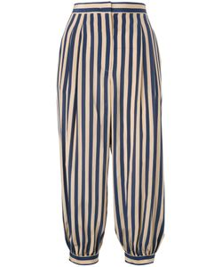 Fendi | Striped Cropped Trousers 42