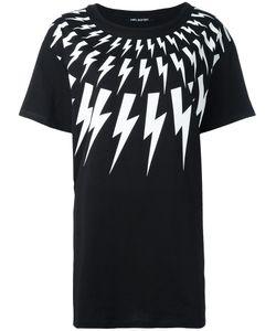Neil Barrett   Lightning Bolt T-Shirt Xs Cotton