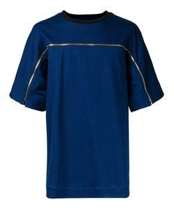 JUUN.J | Zip Detail T-Shirt 46 Cotton/Polyester/Polyurethane