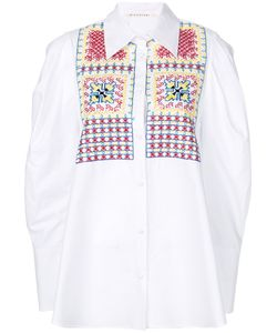 Miahatami | Embroidered Oversized Shirt Women 38