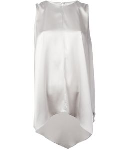 Brunello Cucinelli   Asymmetric Hem Blouse Size Medium