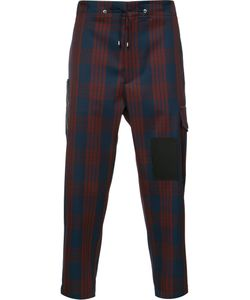 OAMC | Cropped Plaid Trousers
