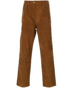Bleu De Paname   Suedois Corduroy Trousers Men
