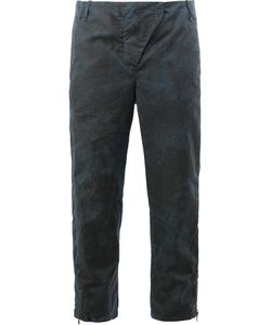 Masnada | Cropped Distressed Effect Trousers Size 42