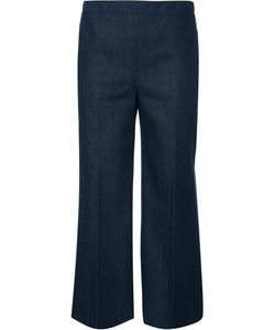 Akris Punto | Cropped Trousers 12 Cotton/Polyester/Spandex/Elastane