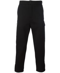 Helmut Lang | Cropped Trousers 30 Modal/Viscose