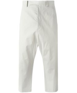 Rick Owens | Cropped Astaires Pants 46 Cotton/Cupro/Rubber